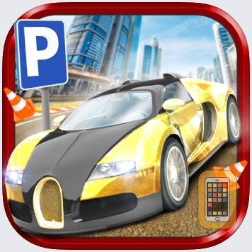 3D Dubai Parking Simulator Drive Real Extreme Super Sports Car by Play With Games Ltd (Universal)
