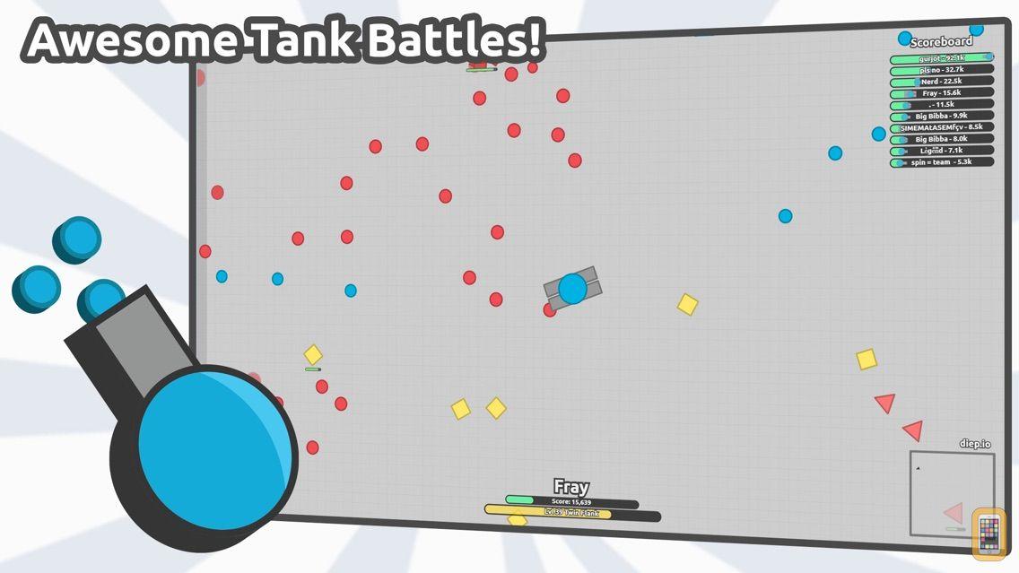 Screenshot - diep.io