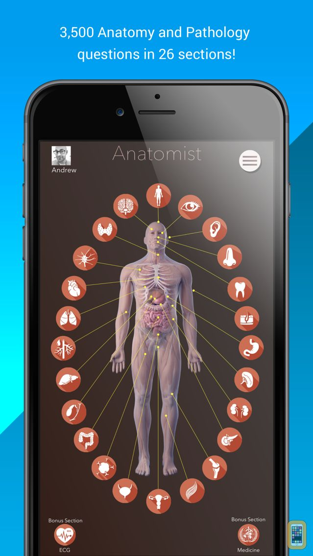 Anatomist Anatomy Quiz Game For Iphone Ipad App Info Stats