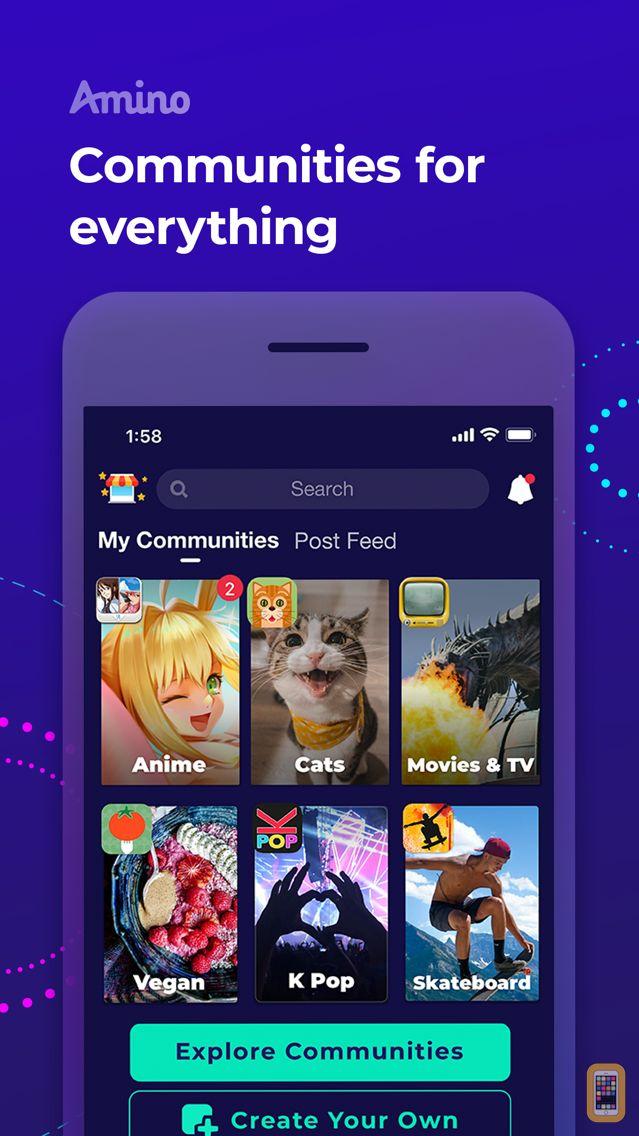 Screenshot - Amino: Communities and Chats