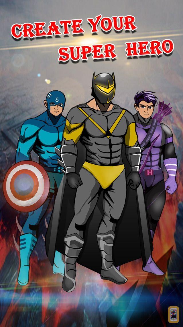 Screenshot - Create Your Own SuperHero - Comics Book Character Simulation & Makeover