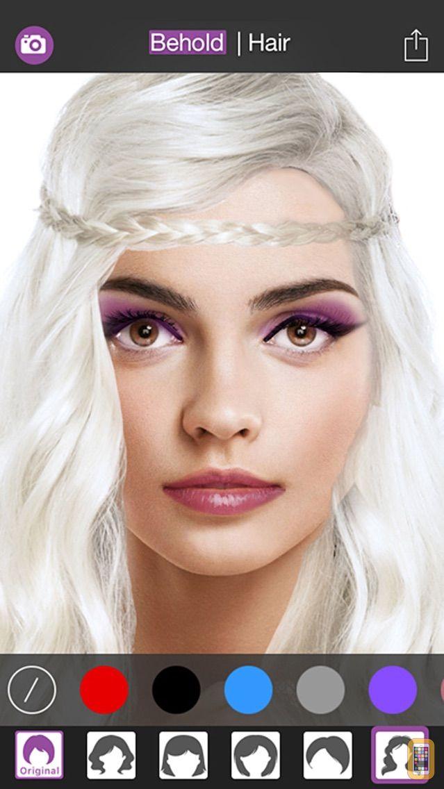 Screenshot - Behold : Contouring plus selfie makeup editor app