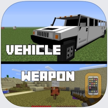 Vehicle and Weapon Mods for Minecraft PC Free by iDreams App (Universal)
