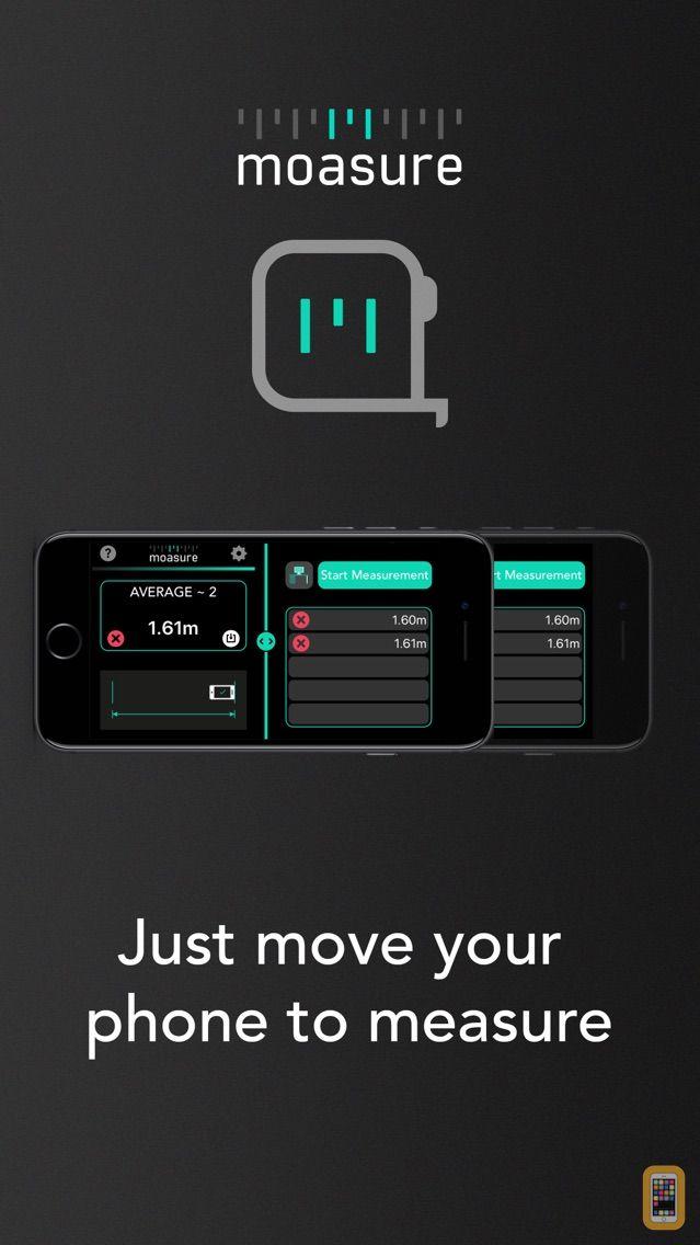 Screenshot - Moasure - smart tape measure