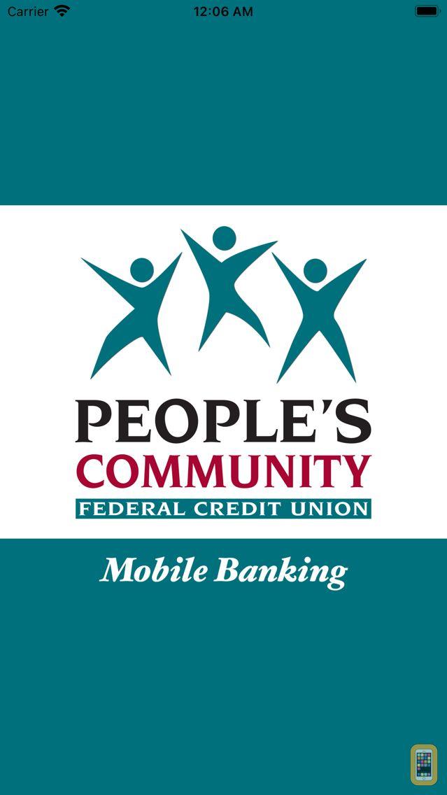 Screenshot - People's Mobile Banking