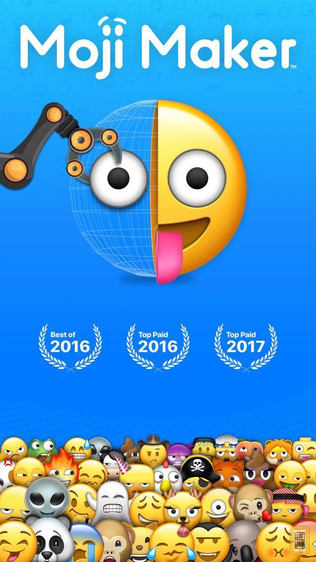 Screenshot - Moji Maker™   Emoji & Avatar