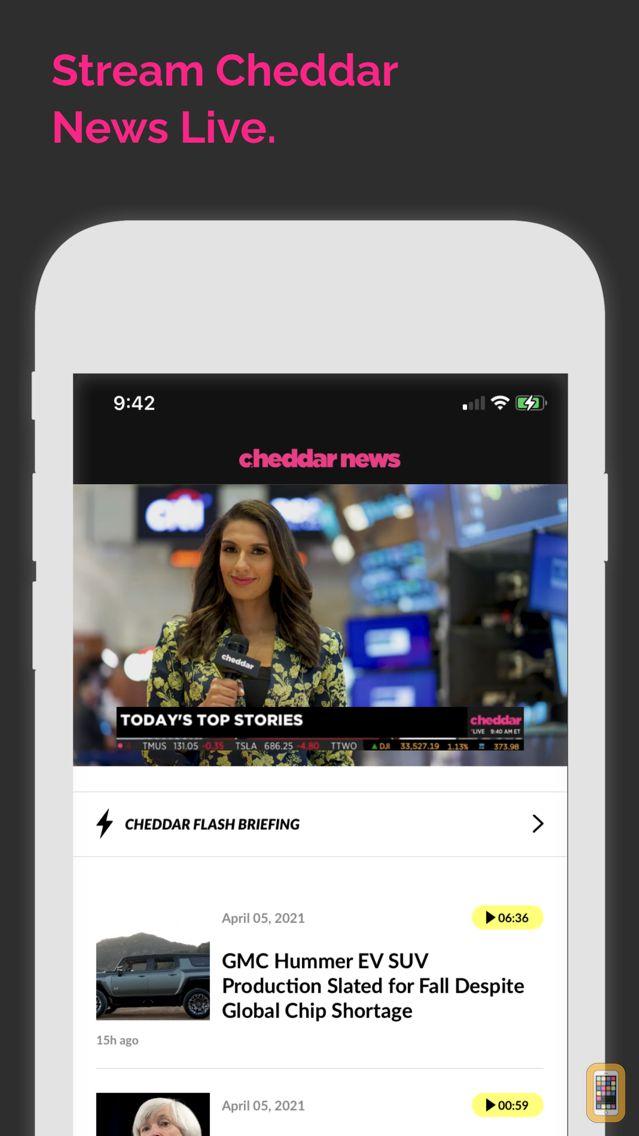Screenshot - Cheddar News