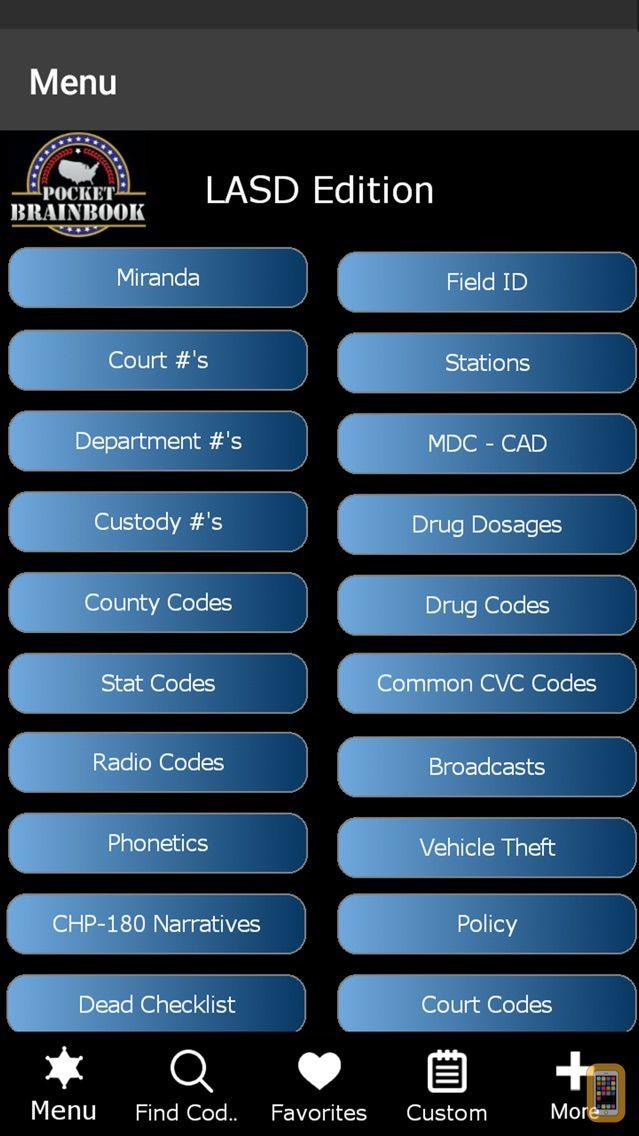 Screenshot - Pocket Brainbook - LASD