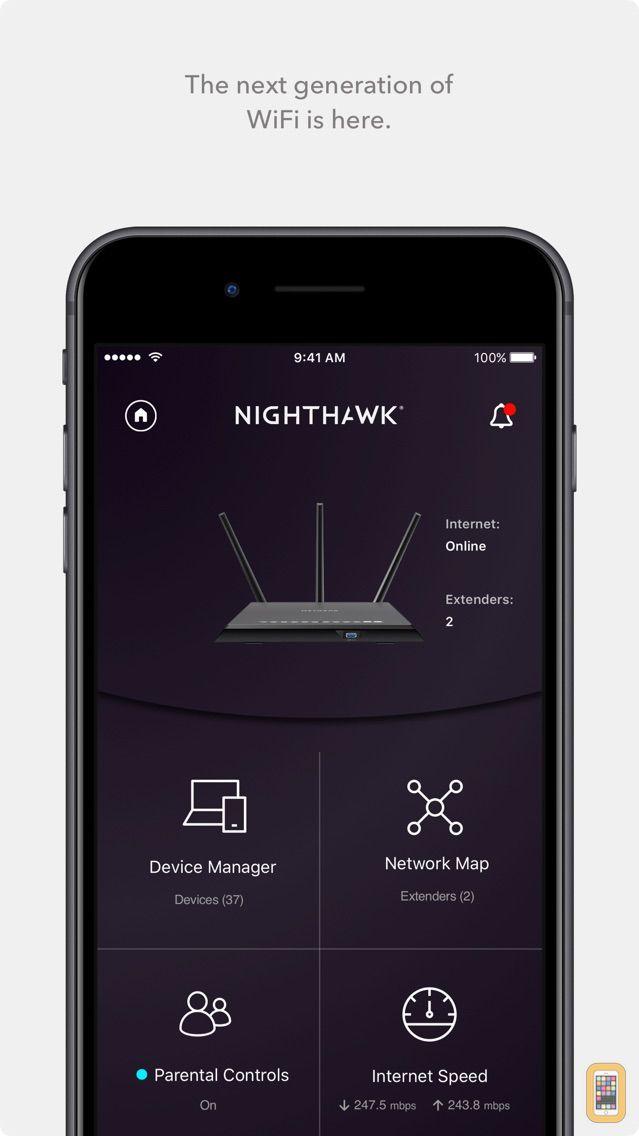 Screenshot - NETGEAR Nighthawk - WiFi App