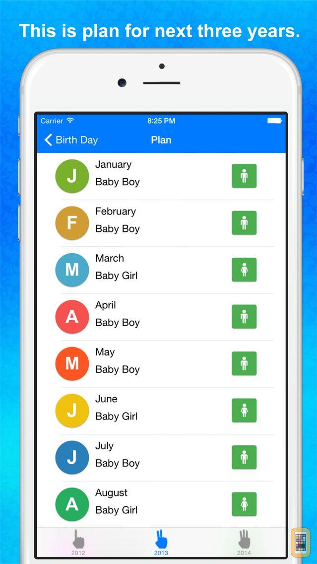 Screenshot - Baby Gender Predictor - Sweet