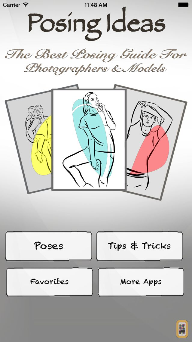 Screenshot - Posing Pro - Guide for Photographers & Models