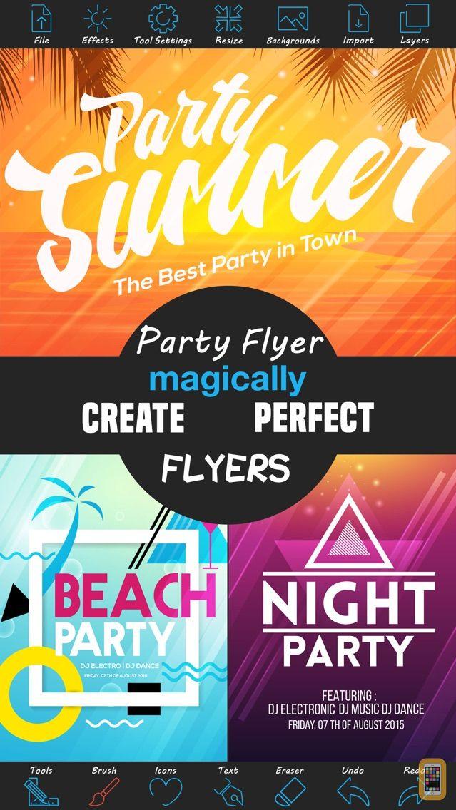 Screenshot - Party Flyer Creator