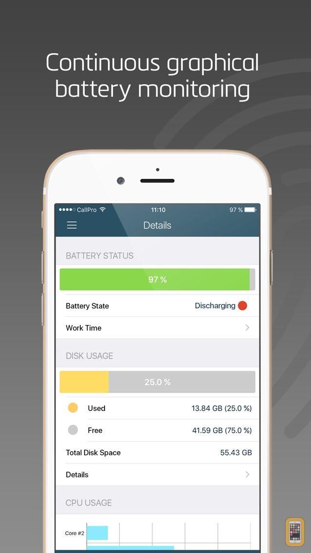 Screenshot - System Status - Activity Monitor of Network & CPU