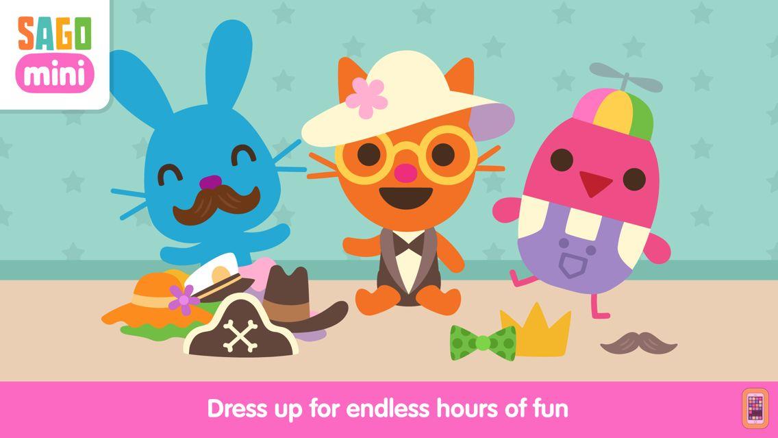 Screenshot - Sago Mini Babies Dress Up