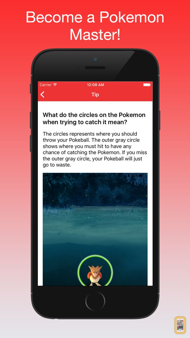 Screenshot - GoGuide - Tips and Help for Pokemon Go
