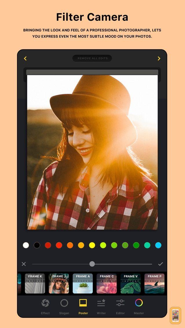Screenshot - HUJI PHOTO - Quick Filter Cam