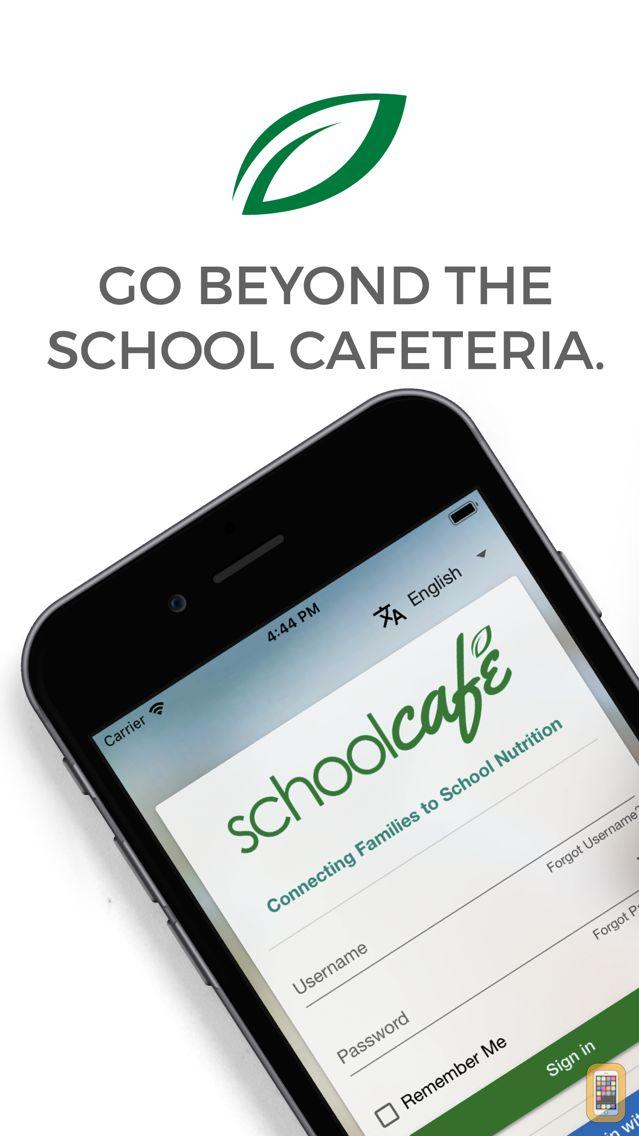 Screenshot - SchoolCafé
