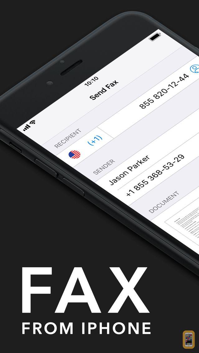 Screenshot - Fax from iPhone - Send Fax App