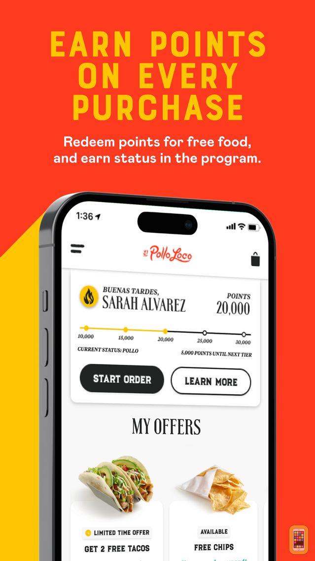 Screenshot - El Pollo Loco - Loco Rewards