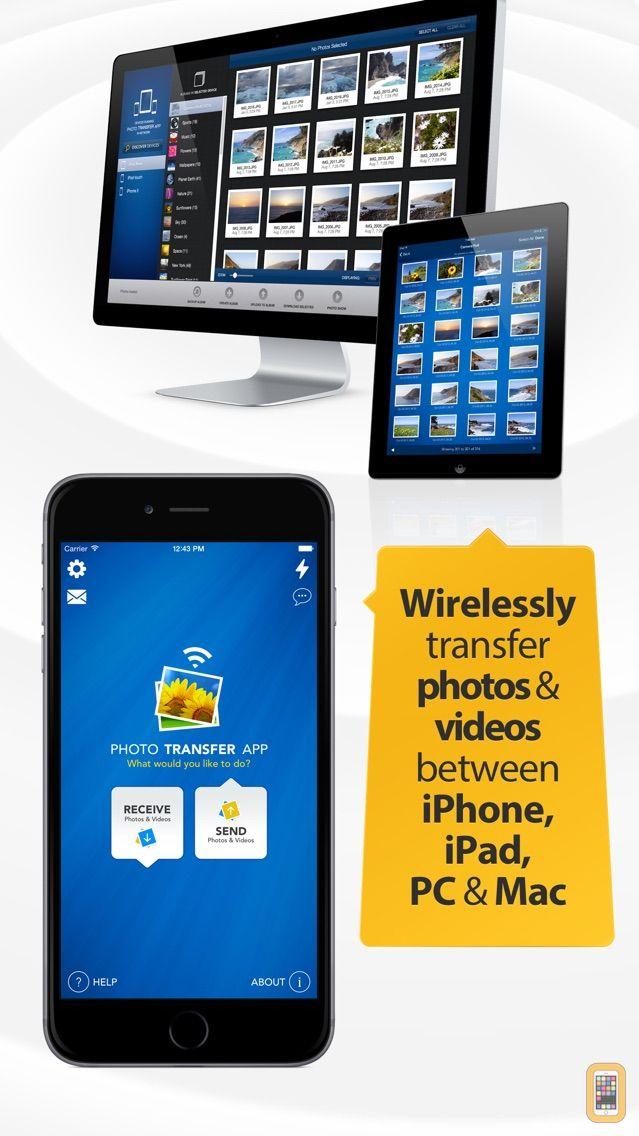 Screenshot - Photo Transfer App PRO