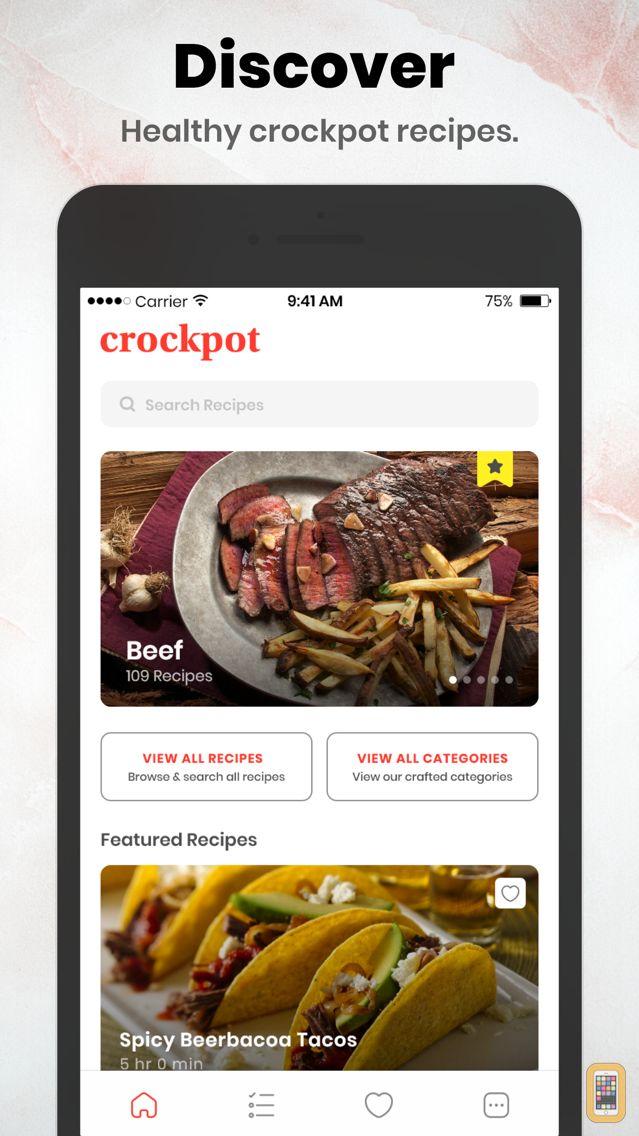 Screenshot - Healthy CrockPot Recipes