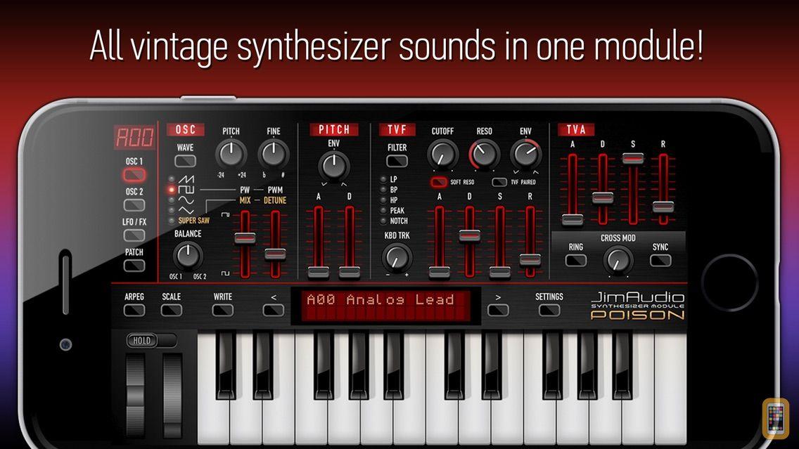 Screenshot - Poison-202 Vintage Synthesizer