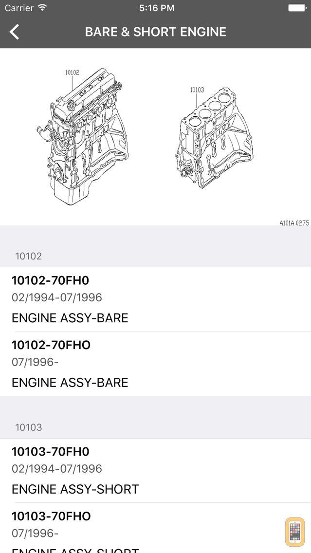 Screenshot - Car Parts for Nissan, Infinity