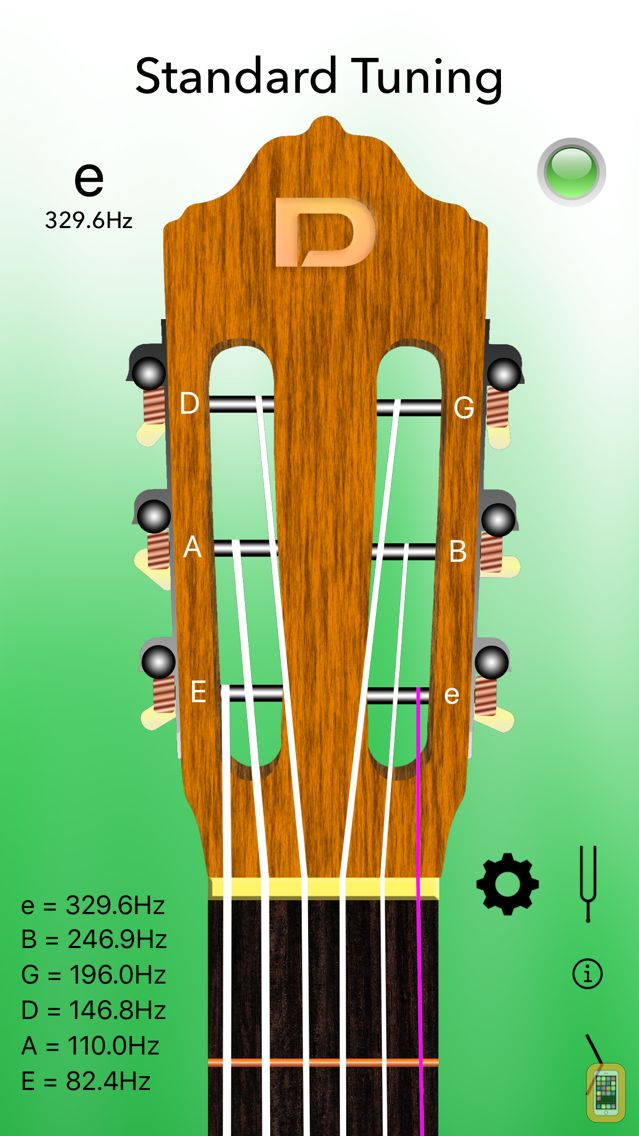 Screenshot - Classical Guitar Tuner Pro