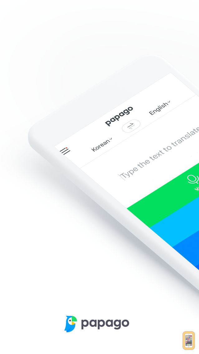 Screenshot - Naver Papago - AI Translator