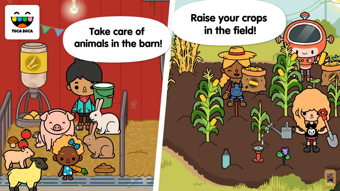 Screenshot - Toca Life: Farm