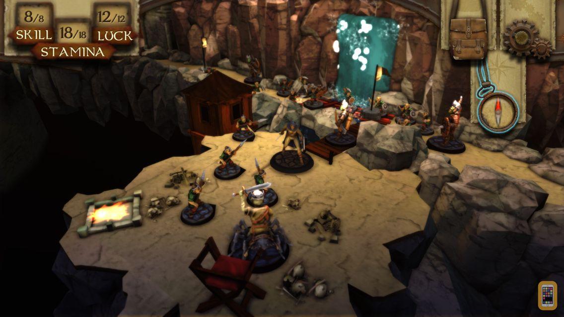 Screenshot - Warlock of Firetop Mountain