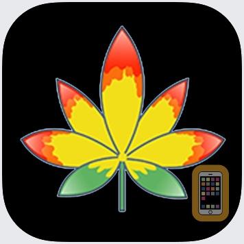 Vibin Weed Emoji Keyboard by Michelle Blair (iPhone)