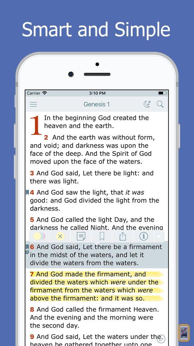 Screenshot - Holy Bible - Daily Reading