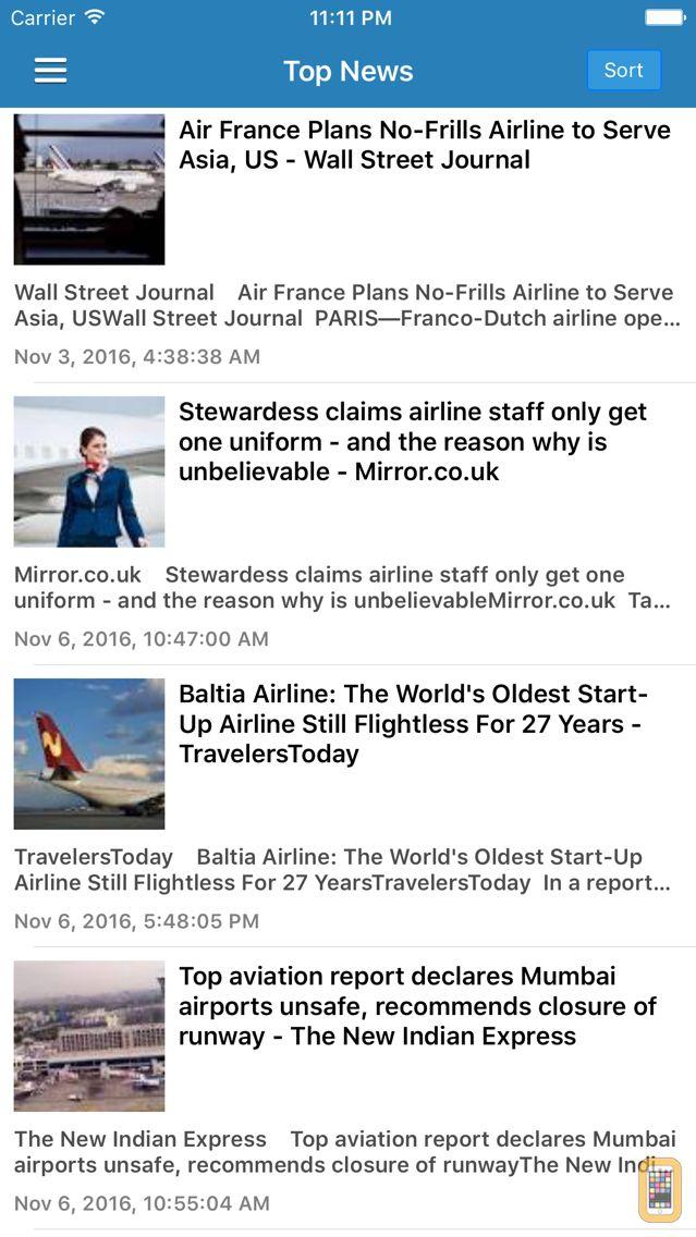 Screenshot - Aviation Airline News Free - Airplane & Drone News