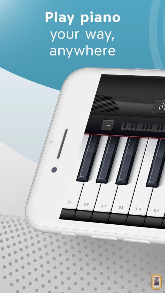 Screenshot - Piano Keyboard App: Play Songs