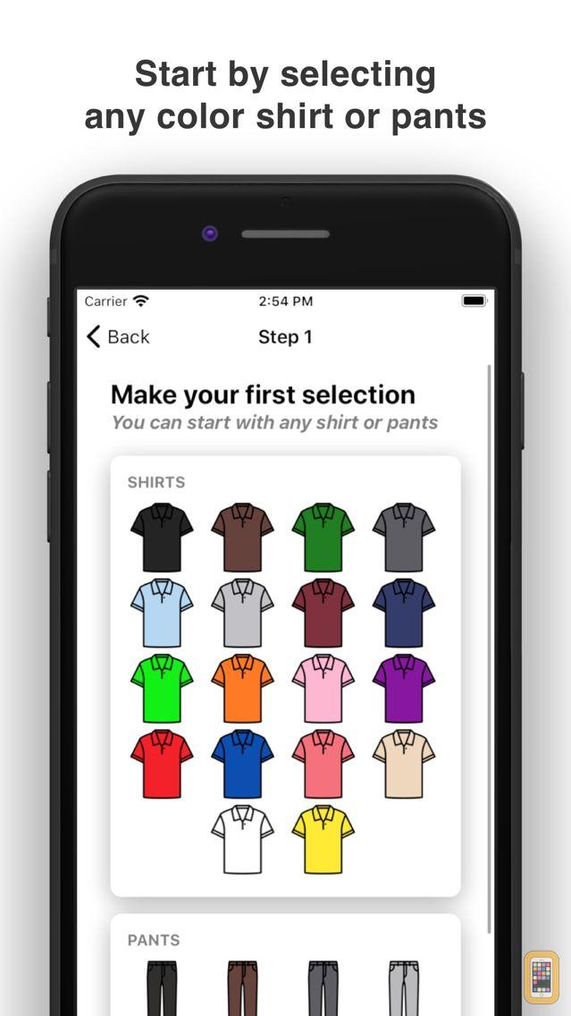 Screenshot - Clothes Matcher Pro