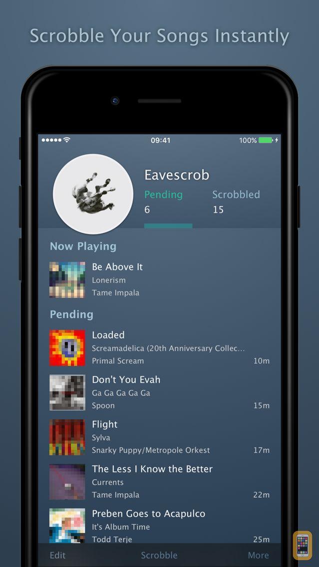 Screenshot - Eavescrob - for Last.fm