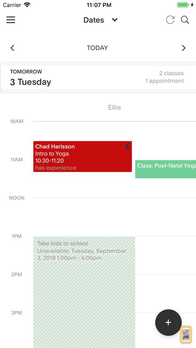 Screenshot - Acuity Scheduling