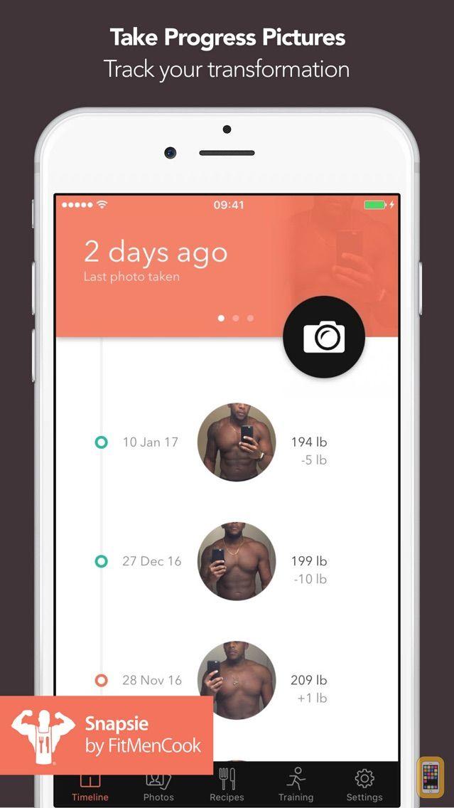 Screenshot - Snapsie - Take progress pictures