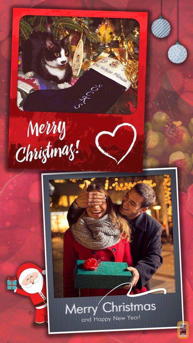 Screenshot - Christmas and New Year Photo Frames - Photo Editor