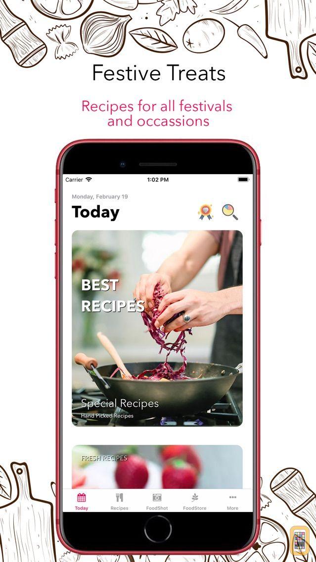 Screenshot - Food Book Recipes