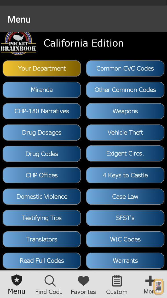 Screenshot - California - Pocket Brainbook