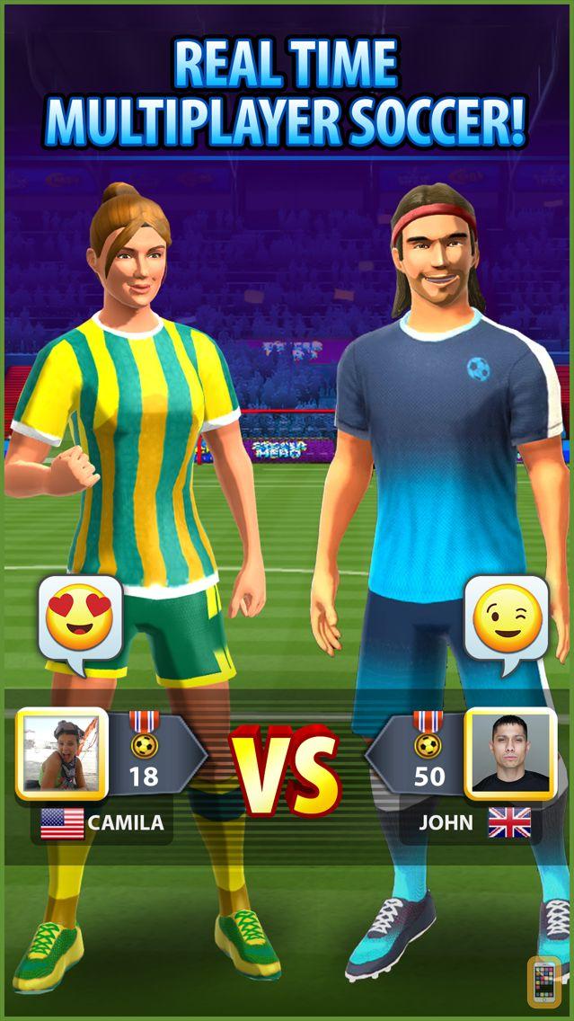Screenshot - Soccer! Hero