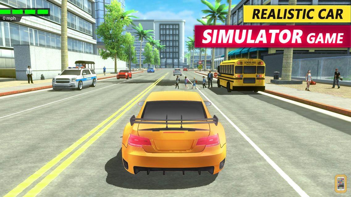 Screenshot - Driving Academy 3D Car Games