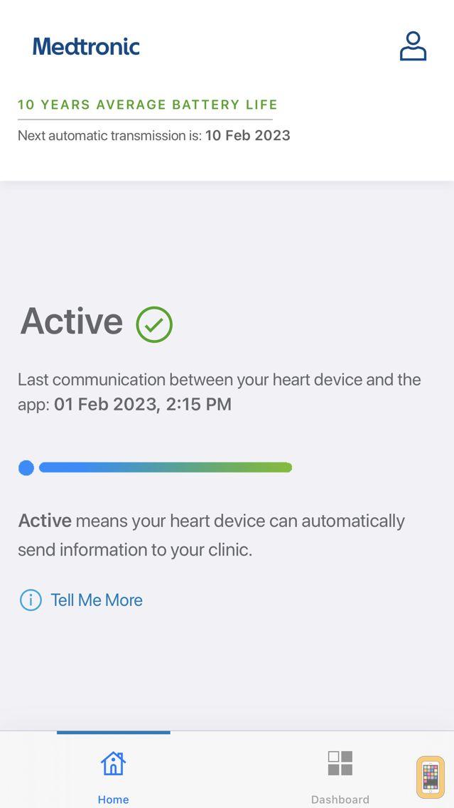 Screenshot - MyCareLink Heart™
