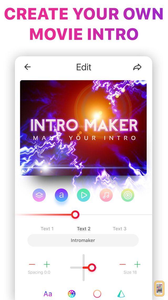 Screenshot - Intro Music Video, Movie Maker