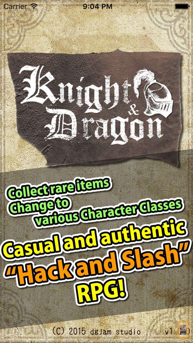 Screenshot - Knight & Dragon - Hack and Slash Offline RPG