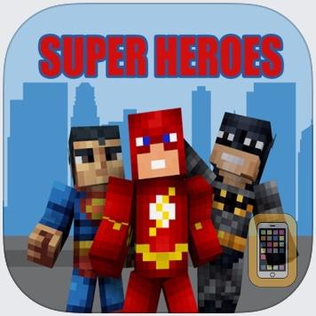 SuperHero SKINS App for Minecraft PE - MCPE Skins by wenxing you (Universal)