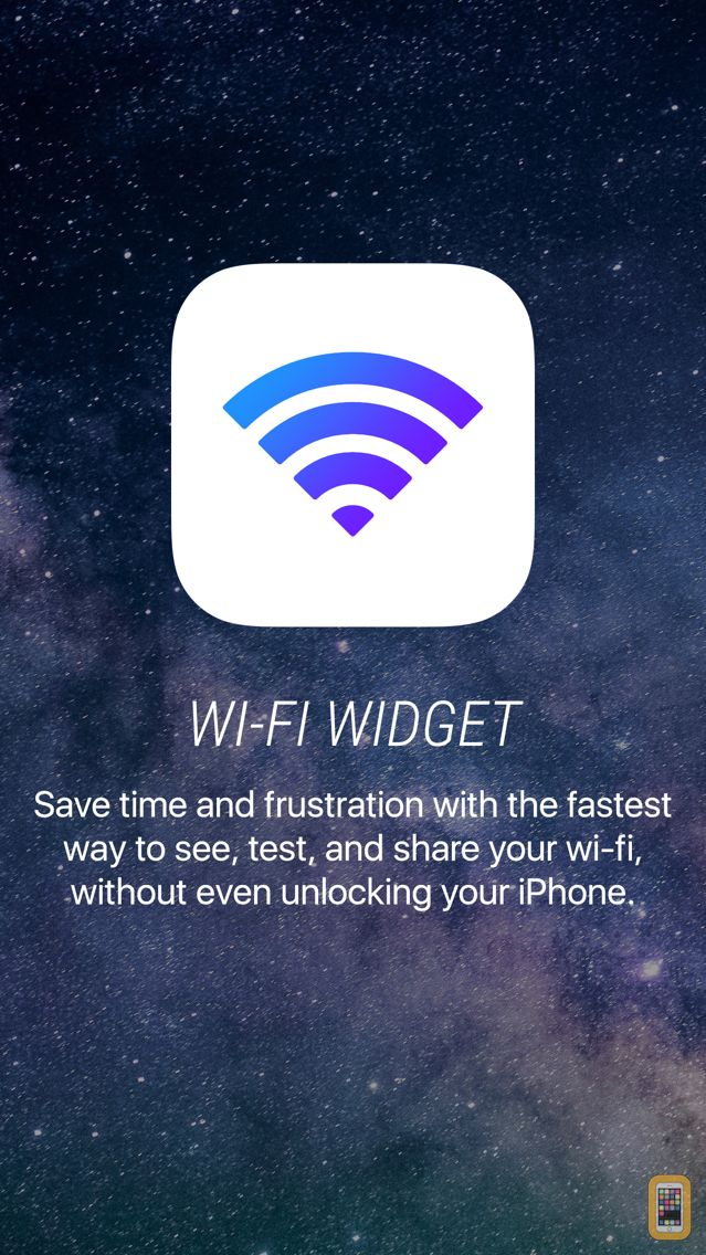 Screenshot - Wifi Widget - See, Test, Share