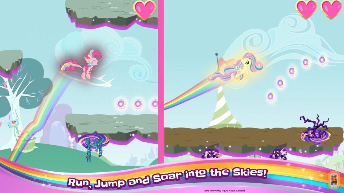 Screenshot - My Little Pony Rainbow Runners